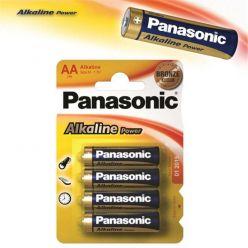 Panasonic LR6 Alkaline Power, AA alkalické baterie, 1.5V, 4ks - Blister