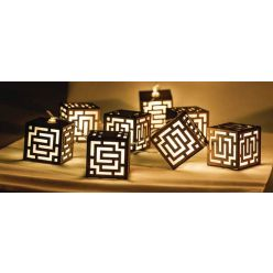 HQ HQLEDSLSQRWD - LED dekorační řetěz, 10 LED, kostky