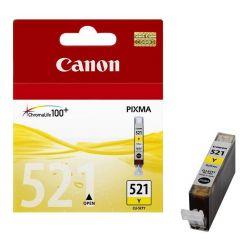 Canon CLI-521Y, inkoustová cartridge, yellow (žlutá)