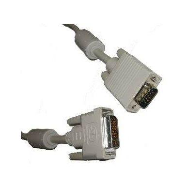 Kabel DVI - VGA kabel, 2m, stíněný
