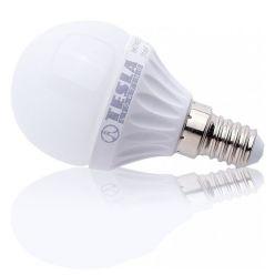 MG140330-1 Tesla - LED žárovka mini BULB, E14, 3W, 230V, 250lm, 180°, 25.000 hod, 3000K teplá bílá, CRI(RA)?80