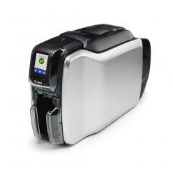 Tiskárna Zebra ZC300 plastových karet, oboustranný tisk, 12bodů/mm, 300 dpi, USB, LAN, LCD displej, Card Studio