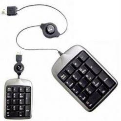 A4Tech TK-5, numerická klávesnice, USB, černostříbrná