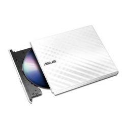 ASUS SDRW-08D2S-U LITE, externí DVD vypalovačka, slim, USB 2.0, bílá