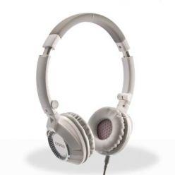 Crono HM-54W Plus Sluchátka s mikrofonem, bílá
