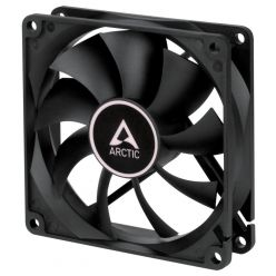 ARCTIC F9, ventilátor 92mm, 1800rpm, 22.5dBA, 3-pin, černý