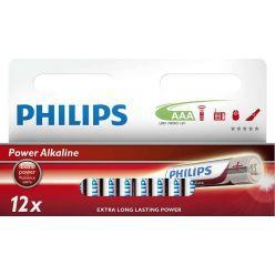 Philips baterie AAA Power Alkaline - 12ks