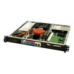 "Supermicro SC513L-410 mini1U ATX,2sATA 2,5"", 410W 48V DC(24p), černé"