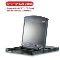 """ATEN KVM switch KL-1508AM 8PC KVM 17""""LCD CAT5"""