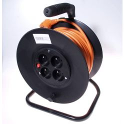 PremiumCord Prodlužovací kabel 230V 25m buben