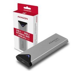 AXAGON EEM2-UG2, externí kovový box pro M.2 NVMe SSD, USB 3.1