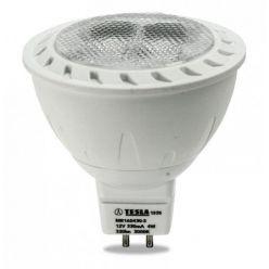 TESLA LED žárovka/ GU5,3/ MR16/ 4W/ 12V/ 320lm/ 3000K/ teplá bílá
