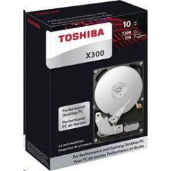 """Toshiba X300 - 10TB, 3.5"""" HDD, 7200rpm, 256MB, SATA III, retail"""
