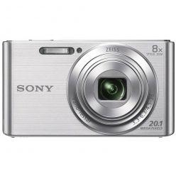 """SONY DSC-W830S, 20MPx, 8x zoom, 2.7"""" LCD, stříbrný"""