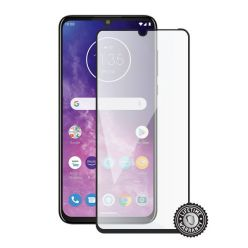 Screenshield MOTOROLA One Zoom XT2010 Tempered Glass protection (full COVER black)