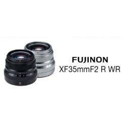 Fujifilm FUJINON XF35mm F/2 R WR - Black