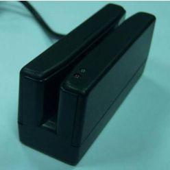 Čtečka Partner MR386B 90mm, snímač mag.karet 1,2,3 stopa, USB (HID), černá