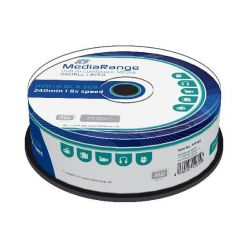 MEDIARANGE DVD+R DL 8.5GB, 8x, 25ks, spindle