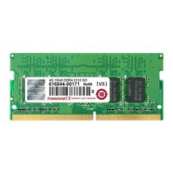 Transcend 4GB DDR4 2133MHz CL15 SO-DIMM, 1.2V