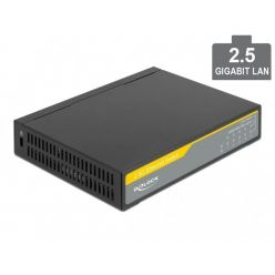 Delock 2,5 Gigabit Ethernet Switch 5 Port