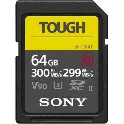 SONY Tough 64GB SDXC karta řady G, UHS-II V90, 300R/299W