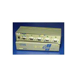 Rozbočovač  VGA / Audio na 4 monitory, 400MHz