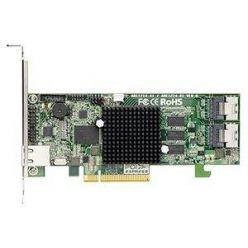 Areca1224-8i(Marvell) SATA3RAID(0/1/5/6/10/50/60) 2×8087, 1GB, PCIe-x8, LP