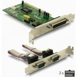 Delock 89004, řadič 2x sériový port RS232, 1x paralelní port LPT, PCI