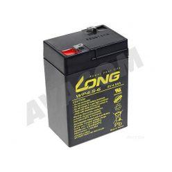 Baterie Long 6V 4,5Ah olověný akumulátor F1