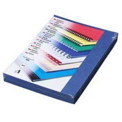 Kartonové desky Delta A4, 250g, modrá královská