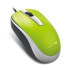 Genius DX-120, optická myš, 1200dpi, USB, zelená