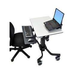 ERGOTRON TeachWell® Mobile Digital Workspace, pojízdný stojan, GRAPHITE GREY