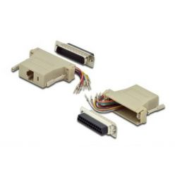 Digitus sériový adaptér RS 232 DB25, RJ45, Modular, DB25 M, RJ45 F