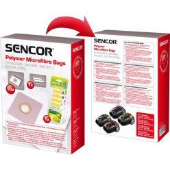 Mikrovlákenné sáčky do vysavače pro SENCOR SVC 8 (10ks) + vůně (5ks)