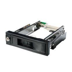 """AKASA Lokstor M52, interní box na SATA HDD do 5.25"""" šachty, zámek"""
