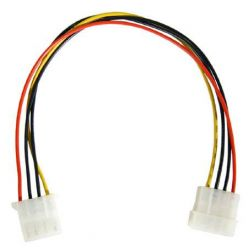 """PremiumCord prodlužovací napájecí kabel 5,25"""" molex 37cm"""