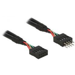Delock USB 2.0 Pin konektor prodlužovací kabel 10 pin samec / samice 50 cm