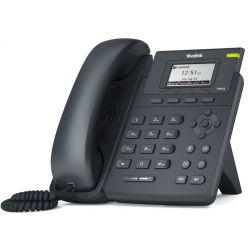Yealink SIP-T19 E2   IP telefon/ 1x SIP/ CZ/SK displej/ 2x 10/100/ QoS/ napájení 5V