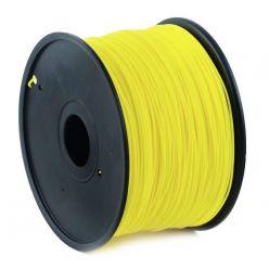 GEMBIRD 3D PLA plastové vlákno pro tiskárny, průměr 1,75 mm, žluté