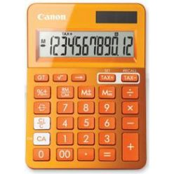 Canon LS-123K-MOR, stolní kalkulačka, oranžová