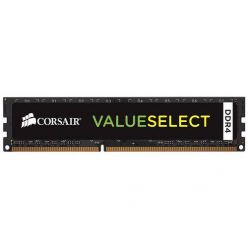 Corsair Value 8GB DDR4 2400MHz, CL16-16-16-39, DIMM, XMP2.0