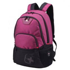 """SCHWYZKROSS batoh na notebook o velikost 15"""" - 16""""/ BP-305PP/ růžovo-černý"""