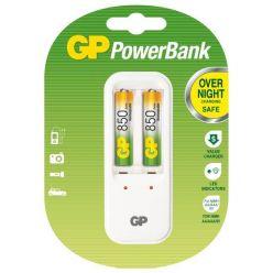 GP PowerBank 410 nabíječka (PB410) + 2x AAA 850 mAh, 6hod.