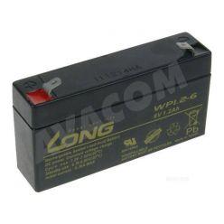 Baterie Long 6V 1,2Ah olověný akumulátor F1