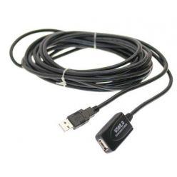 PremiumCord USB 2.0 aktivní prodlužovací kabel A/M-A/F  5m
