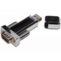 PremiumCord  USB - RS 232 převodník krátký