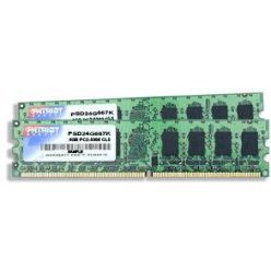 Patriot 2x2GB DDR2 800MHz, CL5
