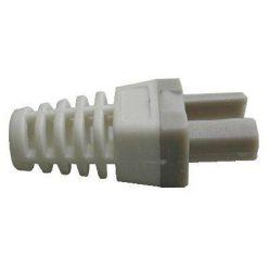 Manžetka pro konektor RJ45 šedá/bílá, 1ks