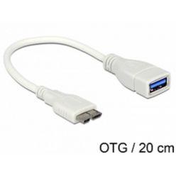 Delock OTG kabel, micro USB 3.0 -> USB 3.0
