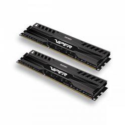 Patriot Viper 3 Black Mamba 2x4GB DDR3 1600MHz, 9-9-9-24, DIMM